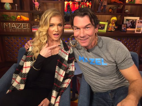 Lala Kent Jerry O'connell WWHL