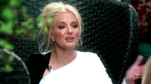 Erika Jayne causes a scandal for going without panties!