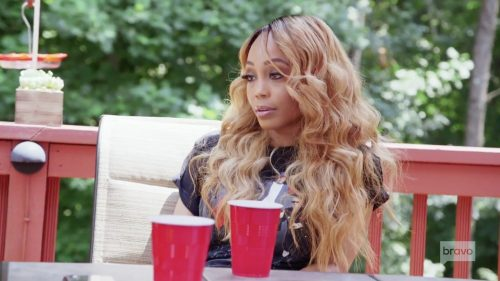 Did Shamari DeVoe reveal too much about her marriage?