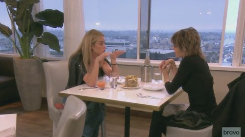 Denise Richards Lisa Rinna Real Housewives Of Beverly Hills