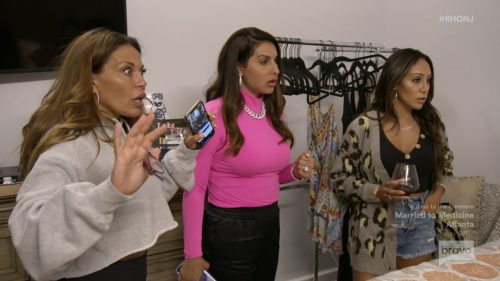 Dolores Catania Jennifer Aydin Melissa Gorga Real Housewives Of New Jersey