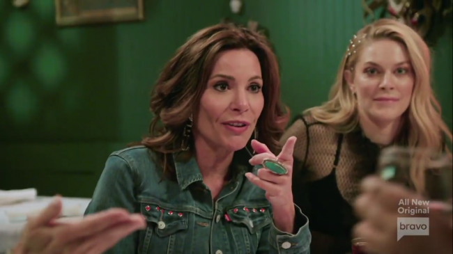 Luann de Lesseps Leah McSweeney Real Housewives Of New York