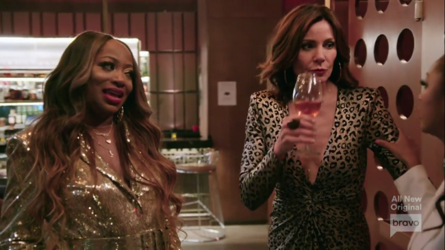Bershan Shaw Luann de Lesseps Real Housewives Of New York