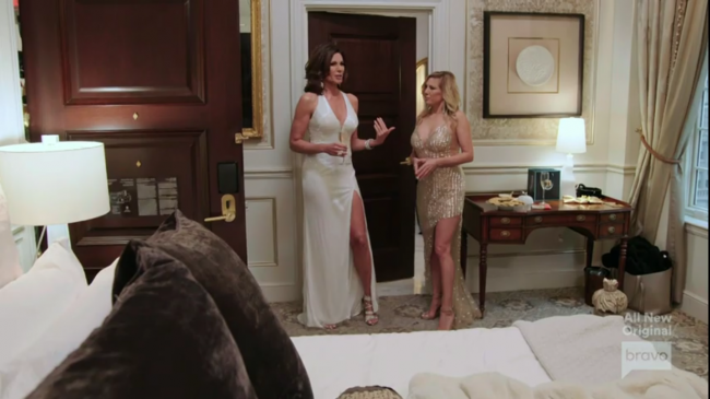 Luann de Lesseps Ramona Singer Real Housewives Of New York