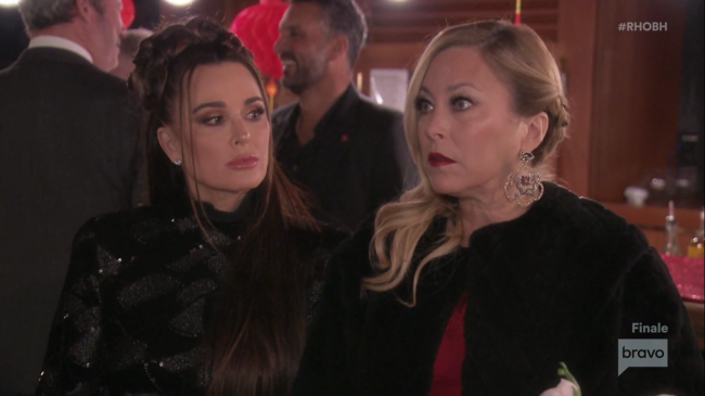 Kyle Richards Sutton Stracke Real Housewives Of Beverly Hills